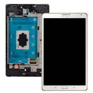 Genuine Samsung Galaxy Tab S LTE SM-T705 8.4inch 4G 16GB SuperAmoled Screen Digitizer Dazzling White