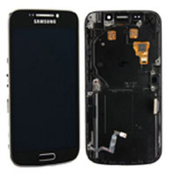 Genuine Samsung Galaxy S4 Zoom C101 C105A C1010 Complete SuperAmoled Screen Digitizer Black