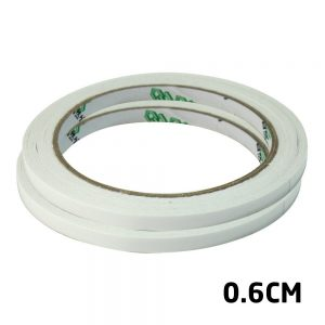 Adhesive Tape 3M Length Strong Double Sided White 0.6cm Width For Digitizers Frames