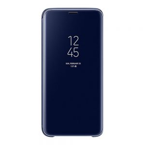 Genuine Samsung Galaxy S9 G960 Clear View Cover Case Blue