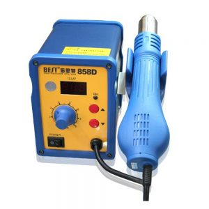 Handheld Hot Air Gun Station Best 858D For Reworking Mobile Phone ICS And Other Electronic Parts