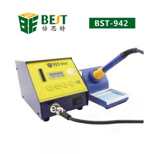 Handheld Soldering Station Best 942 – For Reworking Mobile Phone ICS And Other Electronic Parts