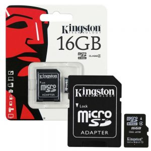 Brand New Kingston Micro SD 16GB Memory Card With Adapter