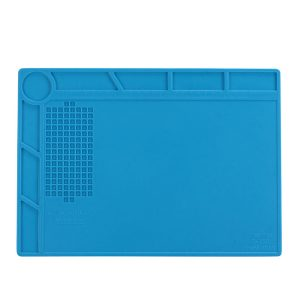 Heat-Resistant Silicone Repair Mat Non-Skid Insulation Desk Pad Repair Tool