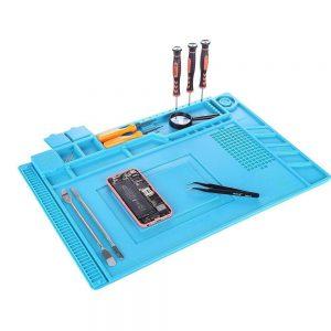 Heat-Resistant Silicone Repair Mat Non-Skid Insulation Desk Pad Repair Tool