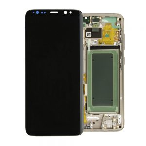 Genuine Samsung Galaxy S8 SMG950F SuperAmoled Lcd Screen Digitizer Gold