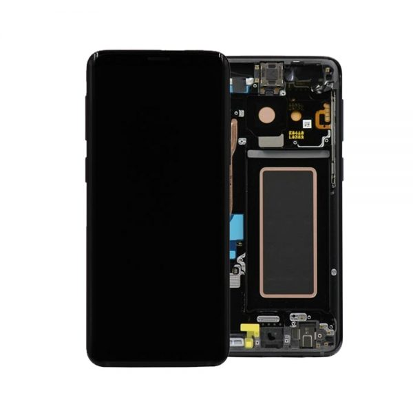 Genuine Samsung Galaxy S9 G960F LCD Screen and Digitizer Midnight Black