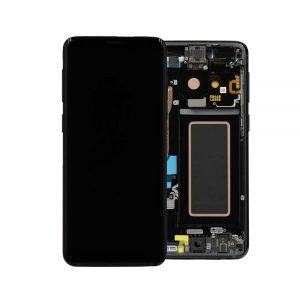 Genuine Samsung Galaxy S9 G960 LCD Screen and Digitizer Midnight Black