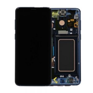 Genuine Samsung Galaxy S9 G960 LCD Screen and Digitizer Coral Blue