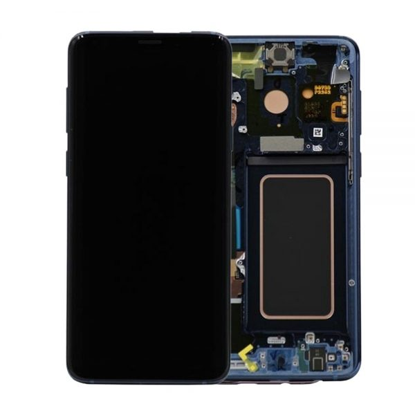 Genuine Samsung Galaxy S9 G960F Lcd Screen and Digitizer Coral Blue