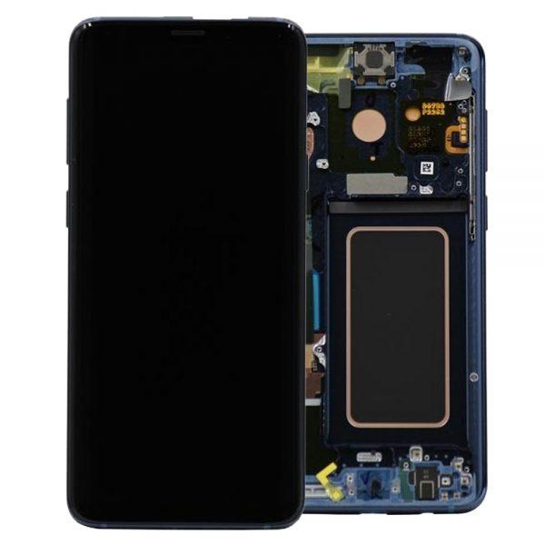 Genuine Samsung Galaxy S9+Plus G965F SuperAmold Lcd Coral Blue