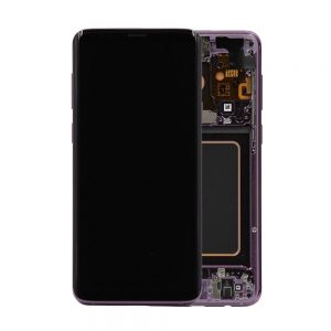 Genuine Samsung Galaxy S9 G960 LCD Screen and Digitizer Lilac Purple