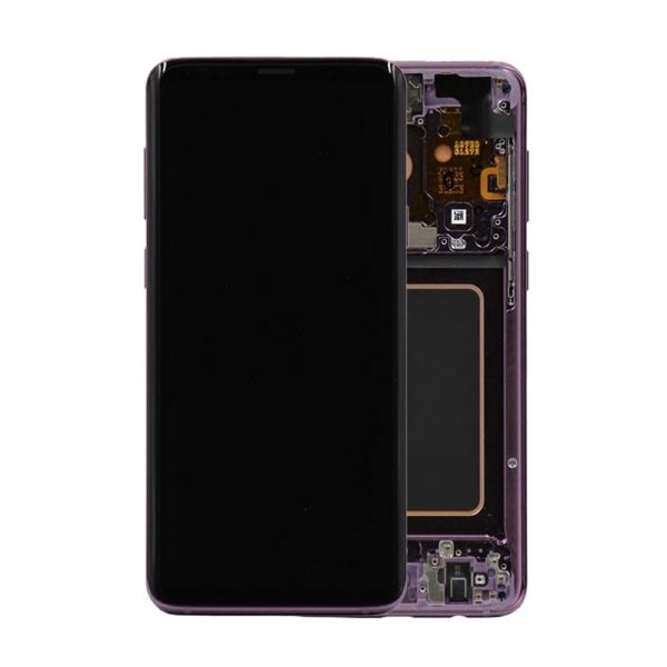 Genuine Samsung Galaxy S9 G960 LCD Screen and Digitizer Lilac Purple