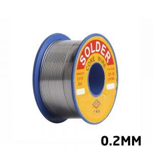 Soldering Wire Tin Wire Set 0.2mm