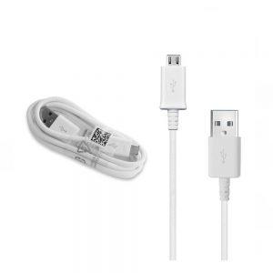 Genuine Samsung S4 Micro USB Cable 1.5m ECB-DU4EWE White