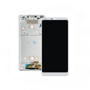 Genuine LG G6 H870 Lcd Screen with Digitizer Frame White ACQ89384003