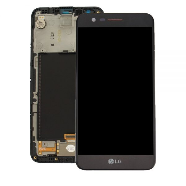 Genuine LG K10 2017 M250N X400 Lcd Module Black Gold