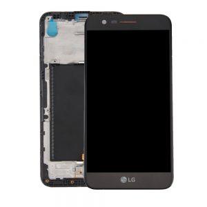 Genuine LG K10 2017 M250N X400 Lcd Module Black Silver
