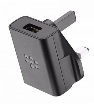 Genuine Blackberry Mains Wall Charger UK Black ASY-46444-003