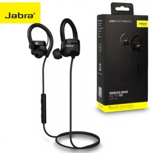 Jabra Step Wireless Stereo Headphones with Music and Call Function in Black