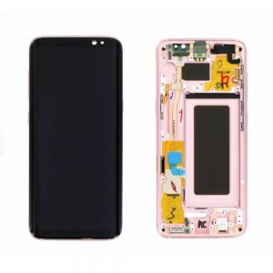 Genuine Samsung Galaxy S8 SMG950F SuperAmoled Lcd Screen Digitizer Pink