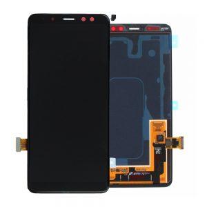 Genuine Samsung Galaxy A8 2018 A530 SuperAmoled LCD Screen and Digitizer Black