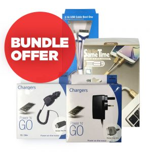 Chargers and Cables Bundle for iPhone and Android