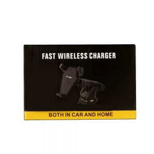 In Car Holder with Fast Wireless Charger