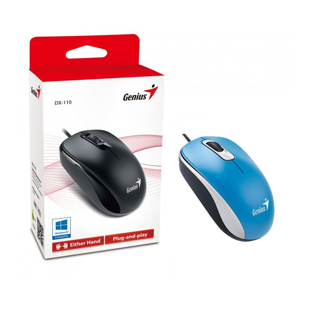 Genius Mouse Dx 110 Blue Phone Parts Input Usb