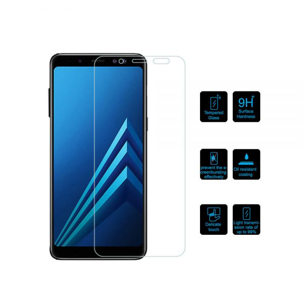 Samsung Galaxy J8 2018 Tempered Glass