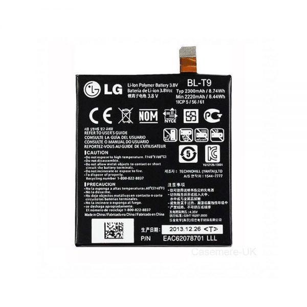 Genuine LG Nexus 5 D821 Battery 2300mAh BL-T9