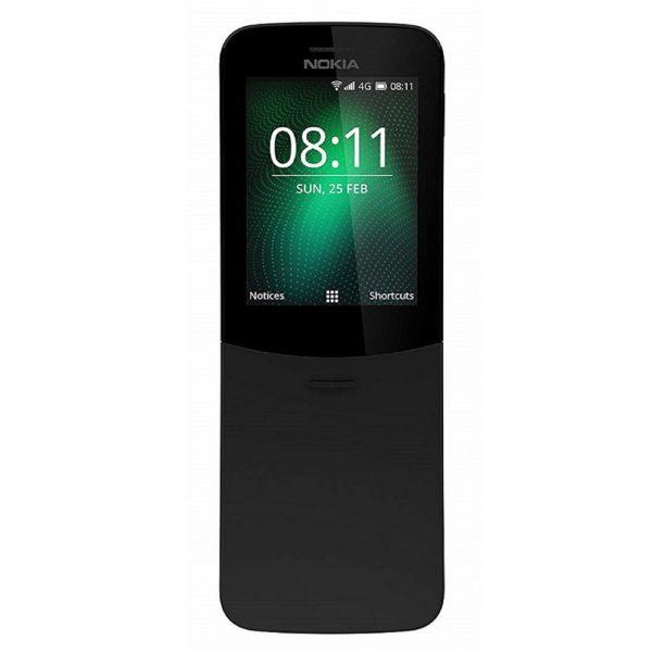 Nokia 8110 Dual Sim 4G Black Mobile Phone