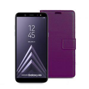 Wallet Flip Case for Samsung Galaxy A6 2018 Pink