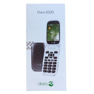 Grade A Doro 6520 Phone Black Boxed