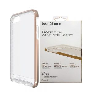 Evo Elite Tech21 Protective Case Cover For iPhone 7 Rose Gold