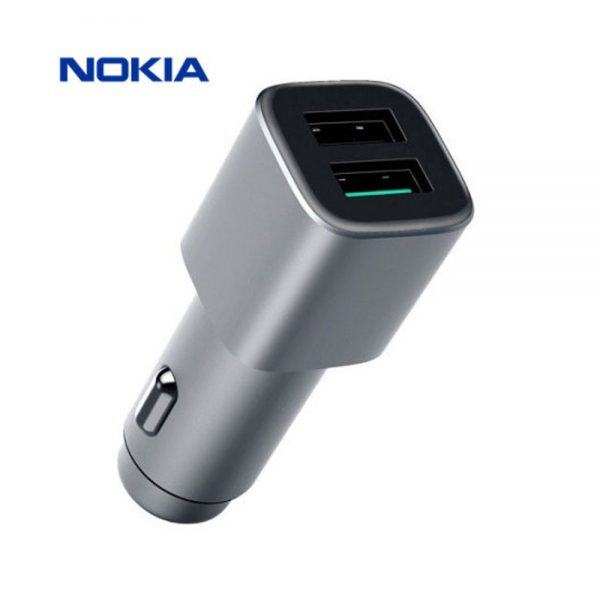 Nokia Double Quick Charge 3.0 In Car Charger DC-801