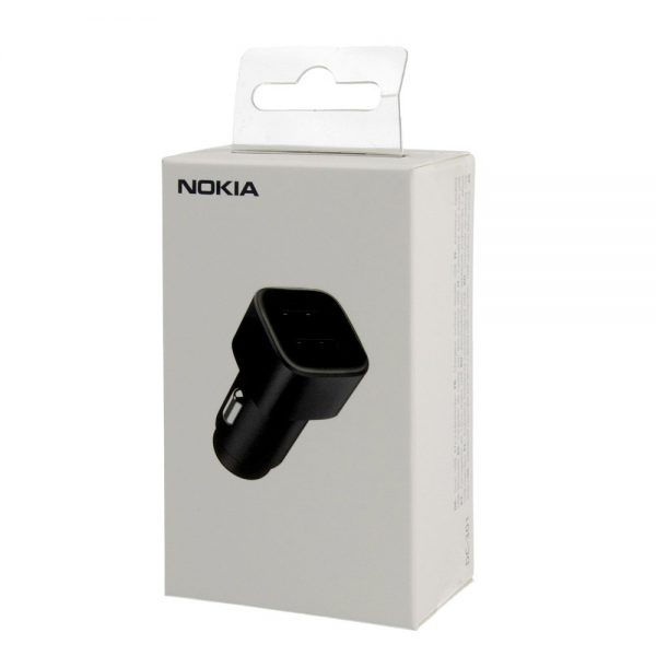 Nokia Double USB Car Charger DC-301