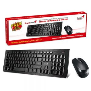 Genius Slimstar 8008 Wireless 2.4GHz Mouse and Keyboard