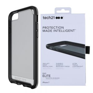 Evo Elite Tech21 Protective Case Cover For iPhone 7 Black