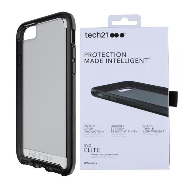 Evo Elite Tech21 Protective Case Cover For iPhone 7 Black
