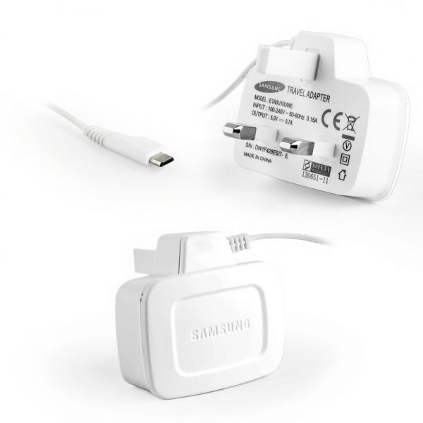 Genuine Samsung ETA0U10UWE Mains Charger in White