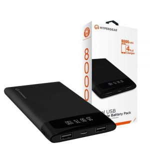 Hypergear Power bank 8000 mAh with Dual USB