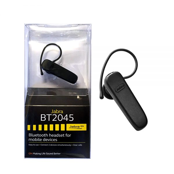 Jabra BT2045 Wireless Bluetooth Headset in Black