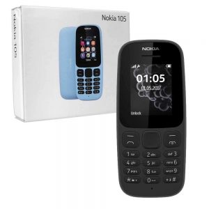 Nokia 105 2017 Single Sim Boxed Phone