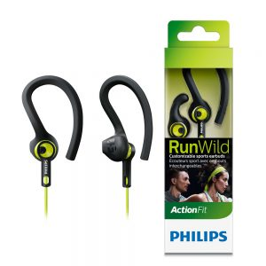 Philips ActionFit RunWild Sports Headphones SHQ1400CL