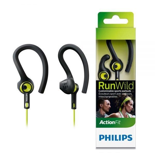 Philips ActionFit RunWild Sports Headphones SHQ1400CL