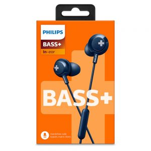 Philips BASS+ In'Ear Headphones SHE4305 Black