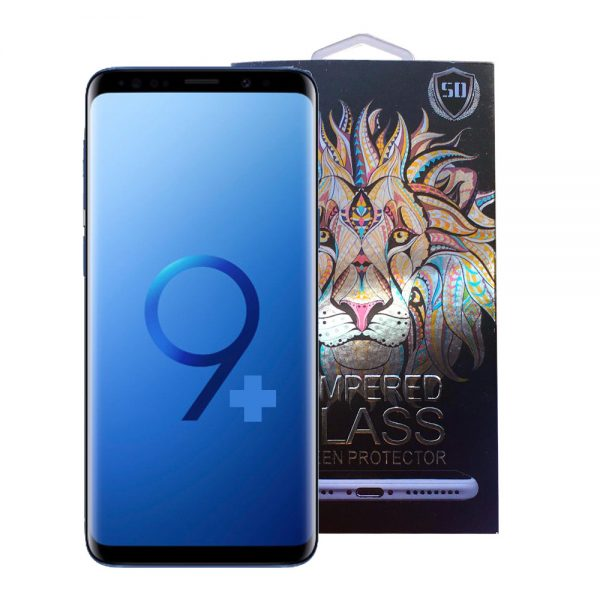 Samsung Galaxy S9 Plus Full Glue 5D Tempered Glass Screen Protector
