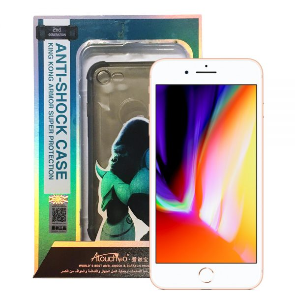 iPhone 7+ 8+ 2nd Generation Anti-Burst Protective Case Black