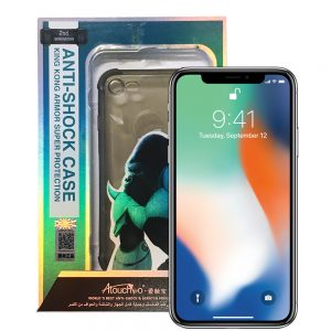 iPhone X 2nd Generation Anti-Burst Protective Case Black